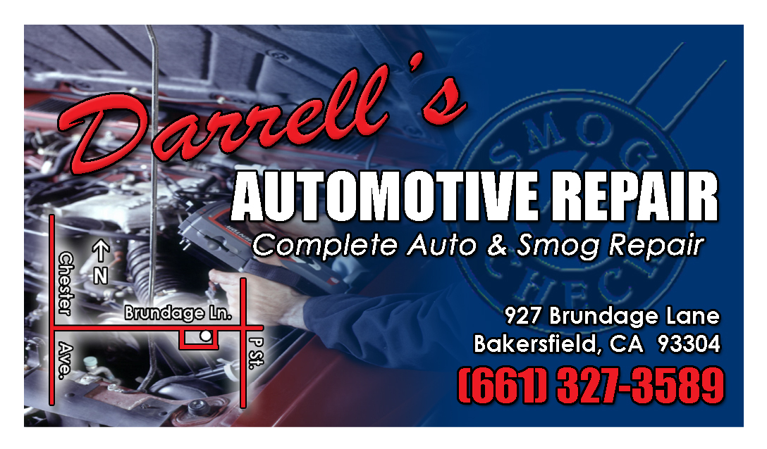 Darrell's Automotive Business Card